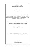 Luận văn: NGHIÊN CỨU HIỆN TRẠNG VÀ ĐỀ XUẤT GIẢI PHÁP SỬ DỤNG ĐẤT LÂM NGHIỆP SAU KHI GIAO TẠI XÃ HÒA BÌNH - HUYỆN ĐỒNG HỶ - TỈNH THÁI NGUYÊN