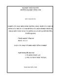 ĐỀ TÀI NGHIÊN CỨU ĐẶC ĐIỂM SINH TRƯỞNG, PHÁT TRIỂN CỦA MỘT SỐ DÒNG LÚA THUẦN VÀ ẢNH HƯỞNG CỦA MỘT SỐ BIỆN PHÁP KỸ THUẬT ĐẾN NĂNG SUẤT CỦA DÒNG LÚA CL02 TẠI SƠN DƯƠNG, TUYÊN QUANG