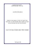 Luận văn: NGHIÊN CỨU ĐẶC ĐIỂM CẤU TRÚC CÁC TRẠNG THÁI THẢM THỰC VẬT THỨ SINH PHỤC HỒI TỰ NHIÊN TẠI TRẠM ĐA DẠNG SINH HỌC MÊ LINH TỈNH VĨNH PHÚC