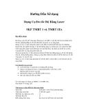 Hướng Dẫn Sử dụng Dụng Cụ Đo tốc Độ Bằng Laser SKF TMRT 1 và TMRT 1Ex