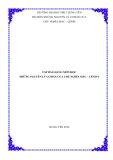 Bài giảng: Những nguyên lý cơ bản của chủ nghĩa Mác - Lênin (ĐH SPKT Hưng Yên)