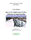 Giáo trình Địa lý tự nhiên đại cương (Trái đất và Thạch quyển)