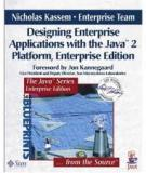 Writing Enterprise Applications with Javaä 2 SDK, Enterprise Edition