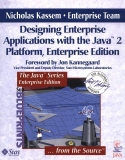 Designing Enterprise Applications with the J2EETM Platform,