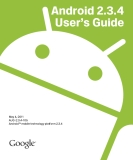 Android 2.3.4 User's Guide