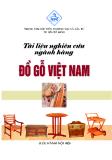 Tài liệu nghiên cứu ngành hàng đồ gỗ của Việt Nam
