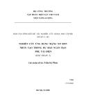 Báo cáo tổng kết:NGHIÊN CỨU ỨNG DỤNG MẠNG NƠ RON NHÂN TẠO TRONG DỰ BÁO NGẮN HẠN PHỤ TẢI ĐIỆN
