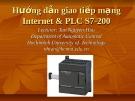 Hướng dẫn giao tiếp mạng Internet & PLC S7-200