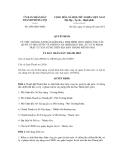 Quyết định số 2694/QĐ-UBND