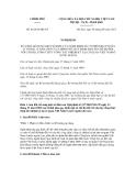 Nghị định số 48/2012/NĐ-CP