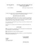 Quyết định số 3315/QĐ-BCT