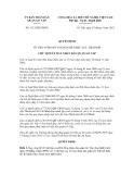 Quyết định số 3112/QĐ-UBND