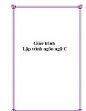 Giáo trình lập trình ngôn ngữ C