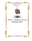 AJAX – Tương lai của của ứng dụng Web