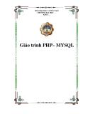 Giáo trình PHP– MYSQL