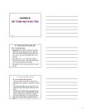 Bài giảng: Chương 10 - Kế toán nợ phải trả