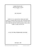 Luận văn:  NGHIÊN CỨU LỰA CHỌN CHƯƠNG TRÌNH, HOÀN THIỆN NỘI DUNG VÀ PHƯƠNG PHÁP TỔ CHỨC THỰC HÀNH MỘT SỐ BÀI THÍ NGHIỆM VẬT LÍ ĐẠI CƯƠNG NHẰM NÂNG CAO CHẤT LƯỢNG THỰC HÀNH CHO SINH VIÊN TRƯỜNG ĐẠI HỌC KỸ THUẬT CÔNG NGHIỆP - ĐẠI HỌC THÁI NGUYÊN