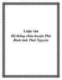 Luận văn: Hệ thống chùa huyện Phú Bình tỉnh Thái Nguyên