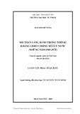Luận văn: MỎ THAN VÀNG DANH TRONG THỜI KÌ KHÁNG CHIẾN CHỐNG MĨ CỨU NƯỚC (NHỮNG NĂM 1965-1975)