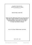 """Luận văn: THIẾT KẾ TIẾN TRÌNH HOẠT ĐỘNG DẠY HỌC MỘT SỐ KIẾN THỨC THUỘC CHƢƠNG """"CẢM ỨNG ĐIỆN TỪ"""" (SÁCH GIÁO KHOA VẬT LÝ LỚP 11 BAN CƠ BẢN) NHẰM PHÁT HUY TÍNH TÍCH CỰC, TỰ CHỦ CỦA HỌC SINH TRONG GIỜ HỌC"""