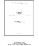 Giaó trình các chất phụ gia dùng trong sản xuất thực phẩm