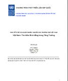 Việt nam : tìm kiếm bình đẳng trong tăng trưởng