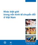 Khác biệt giới trong nền kinh tế chuyển đổi ở Việt Nam