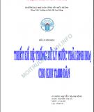 Báo cáo tốt nghiệp:  Xử lý nước thải