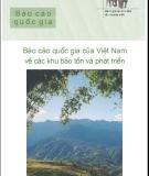 Báo cáo quốc gia của việt nam về các khu bảo tồn và phát triển