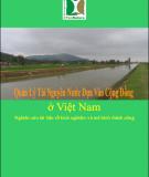 Báo cáo khoa học: Quản lý tài nguyên nước dựa vào cộng đồng ở Việt Nam