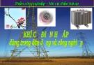 Bài giảng Điện công nghiệp – Khí cụ điện hạ áp