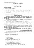 Đề kiểm tra cuối HKI môn Tiếng Việt lớp 3 - Năm học 2011-2012 (Trường tiểu học 1 Phường 2 – Thị xã Vĩnh Châu)