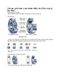 Cấu tạo, phân loại và ưu nhược điểm của ổ lăn (vòng bi, bạc đạn)
