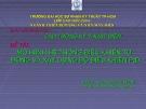 Báo cáo đề tài: Mô hình hệ thống điều khiển tự động và xây dựng bộ điều khiển PIC