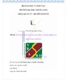 Kế hoạch marketing cho sản phẩm thẻ lập nghiệp của ngân hàng Agribank