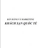 Bán hàng và  cách marketing khách sạn quốc tế