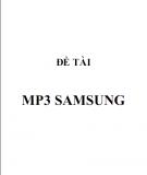 Đề tài chiến lược kinh doanh mp3 samsung