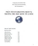 Phân tích marketing dịch vụ trường tiểu học quốc tế Á châu