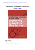 Engineering Drawing for Manufacture by Brian Griffiths