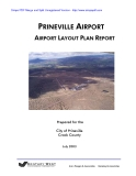 PRINEVILLE AIRPORT AIRPORT LAYOUT PLAN REPORT