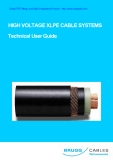 High Voltage Xlpe Cable Systems - Technical User Guide