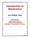 Book Introduction to Electronics