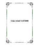 Giáo trình SAP2000