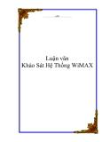 Luận văn: Khảo Sát Hệ Thống WiMAX