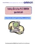Hướng dẫn tự học PLC OMRON qua những hình ảnh