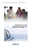 Hướng dẫn sử dụng Nokia PC Suite 7.1