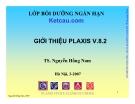 Chương trình Plaxis V.8.2