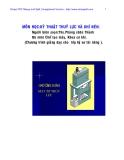 Thủy lực và khí nén : Máy ép thủy lực