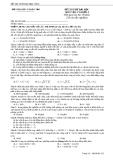 Đè thi thử đại học môn vật lý khối A -số 8