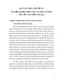 """Báo cao thảo luận đề tài """" TÌM HIỂU SỰ BIẾN ĐỘNG CỦA LÃI SUẤT TÍN DỤNG CỦA VIỆT NAM THỜI GIAN QUA """""""